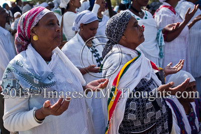 Ethiopian Jews in Celebration of the Sigd in Jerusalem
