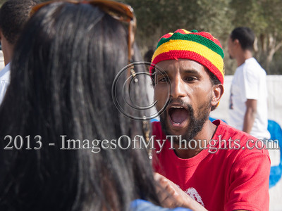 Ethiopian Jerusalem Supreme Court Protest Turns Violent