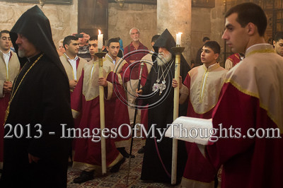 Sunday Mass at Jerusalem's Church of the Holy Sepulchre