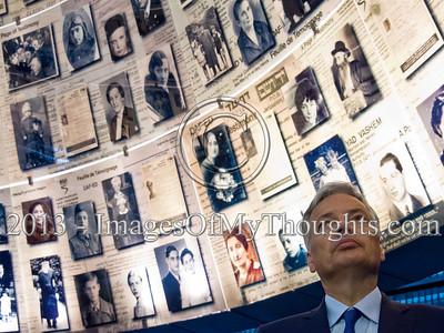 Foreign Minister of Belgium Visits Yad Vashem in Jerusalem