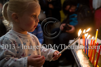 Fifth Hanukkah Candle with the Breslov Yeruslavskis in Jerusalem