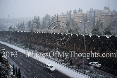 Jerusalem Hit by Storm Alexa
