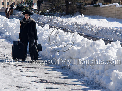 Jerusalem copes with the aftermath of storm 'Alexa'