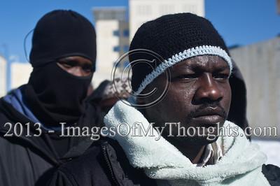 African Migrants Protest Detention Policies in Jerusalem