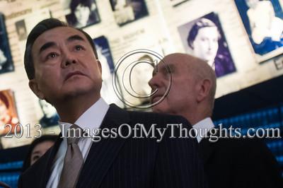Chinese FM Wang Yi visits Yad Vashem Holocaust Museum in Jerusalem