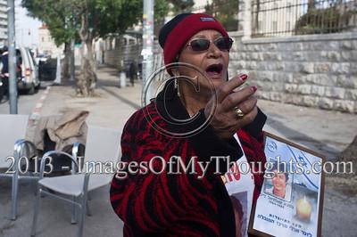Protest in Jerusalem against Palestinian Prisoners' Release