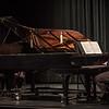Bobby Pace and Brooks Hafey perform virtuosic duo piano music Jan. 24 in Memorial Hall Auditorium. (Miranda Wieczorek/ Chadron State College)