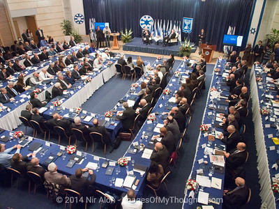 Peres Opens the Ambassadors Conference in Jerusalem