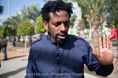 Illegal African Migrants in Tel-Aviv
