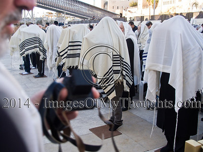 Jews Celebrate Month of Adar I at the Western Wall