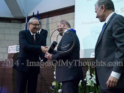 Hebrew U Confers Honorary Doctorate upon European Parliament Pres
