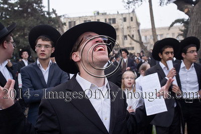 Haredi Jews Protest Military Draft in Jerusalem