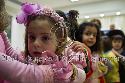 Israeli President Hosts a Purim Party