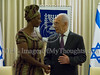 Peres Hosts Rose Mapendo in Jerusalem