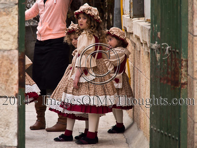 Purim Celebrations in Jerusalem Streets