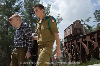 Hungarian Survivors Mark Nazi Occupation in Jerusalem