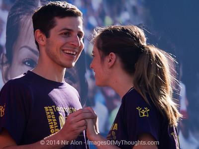 'Social Track' in Jerusalem's International Marathon