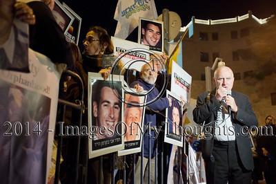 Protest Against Palestinian Prisoners Release in Jerusalem