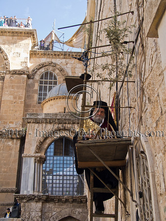 Holy Thursday at the Holy Sepulchre in Jerusalem