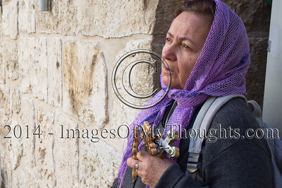 Good Friday on the Via Dolorosa