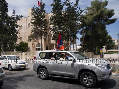 Armenian Genocide Commemoration in Jerusalem