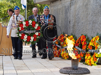 WW2 Allied Victory Commemorated in Jerusalem