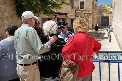 Preparations for Pope Visit in Jerusalem