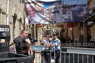 Preparations for Pope Visit in Jerusalem