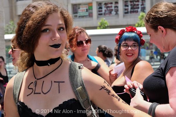 Jerusalem Slut Walk 2014