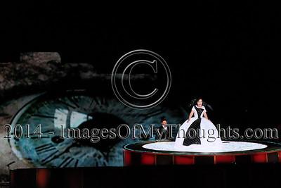 La Traviata at Masada