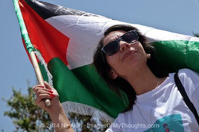 Palestinian Prisoners' Hunger Strike, Jerusalem