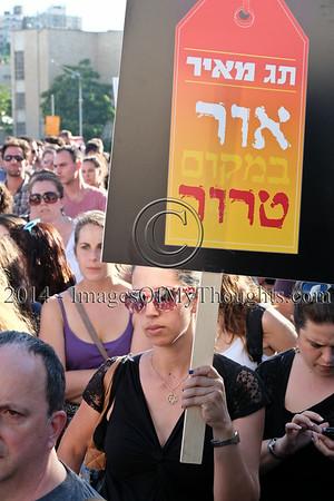 Pro-Peace Rally in Jerusalem