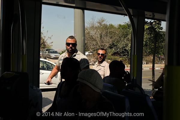 Jerusalem Tram Security