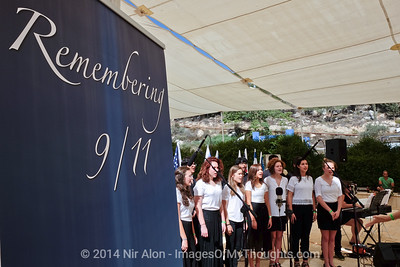 Jerusalem: 9/11 Memorial Ceremony
