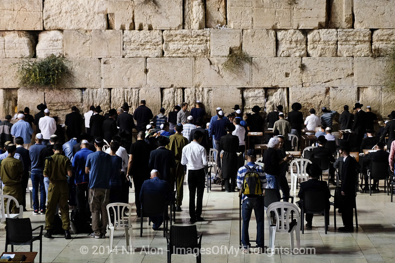 Slichot Prayers in Jerusalem