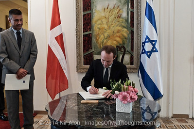 Danish FM in Israel