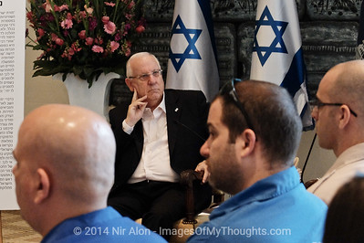 Israeli President Hosts Youth Movements Representatives