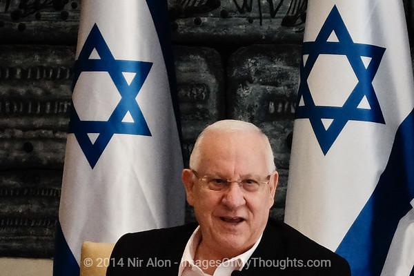Israeli President Hosts Youth Movements Representatives
