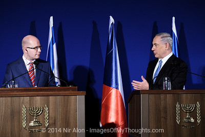 PM Sobotka Heads Czech Delegation to Israel