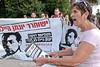 Supreme Court Protest for Hailu in Jerusalem