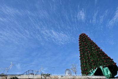 Christmas Preparations in Jerusalem