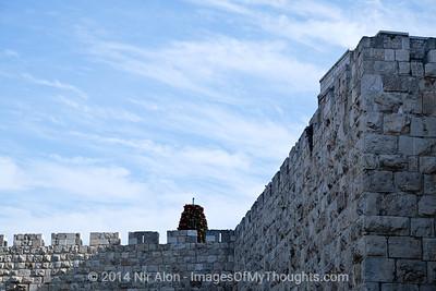 Christmas Preparations in Jerusalem