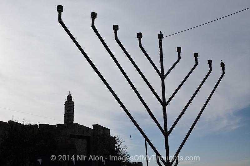 Israel: The Tower of David Museum in Jerusalem
