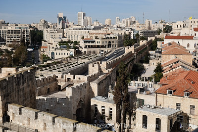 Israel: The Tower of David Museum in Jerusalem