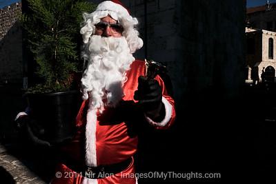 2014 Christmas Tree Distribution in Jerusalem