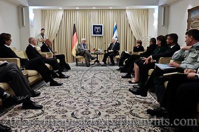 German FM Steinmeier Visits Israel