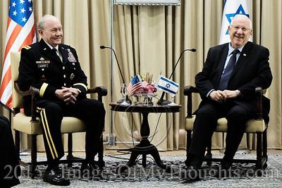 U.S. General Dempsey Visits Israel