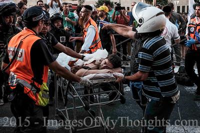 Multiple Stabbings at Jerusalem Pride March