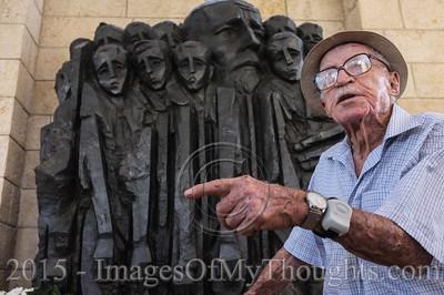 Commemorating Janusz Korczak in Jerusalem, Israel