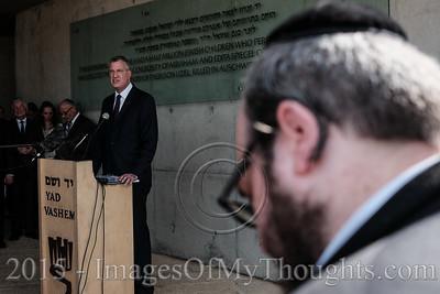 NYC Mayor De Blasio Visits Israel